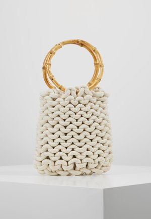 FLAME BAMBOO ROPE TOTE - Tote bag - cream