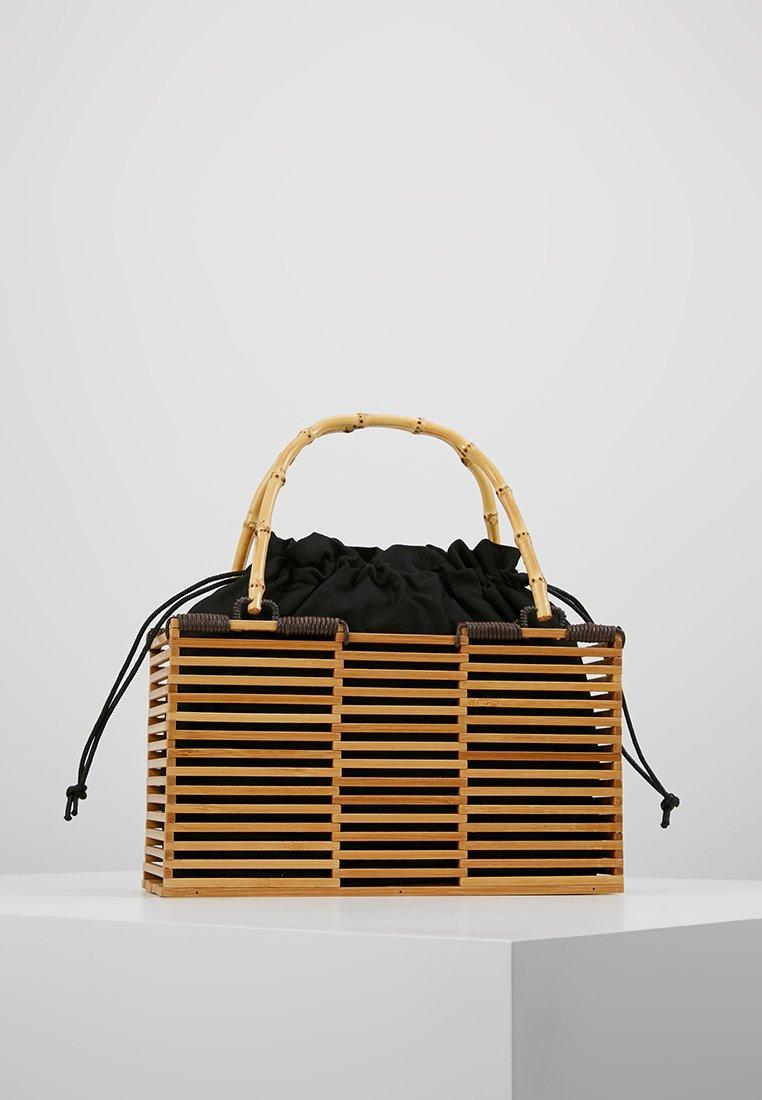 Topshop - BEAR GRAB - Handbag - natural