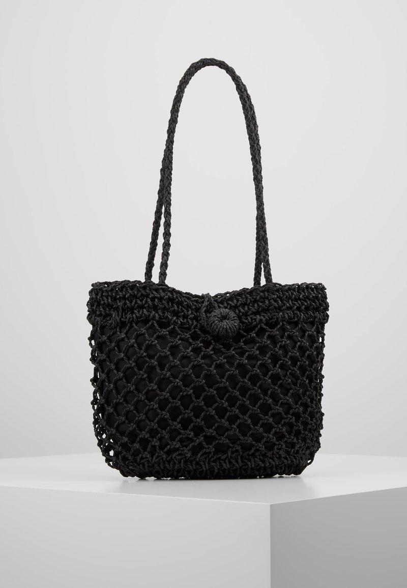 Topshop - FIZZLE TOTE - Handbag - black