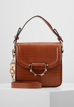 CARRIE CROC - Handbag - tan