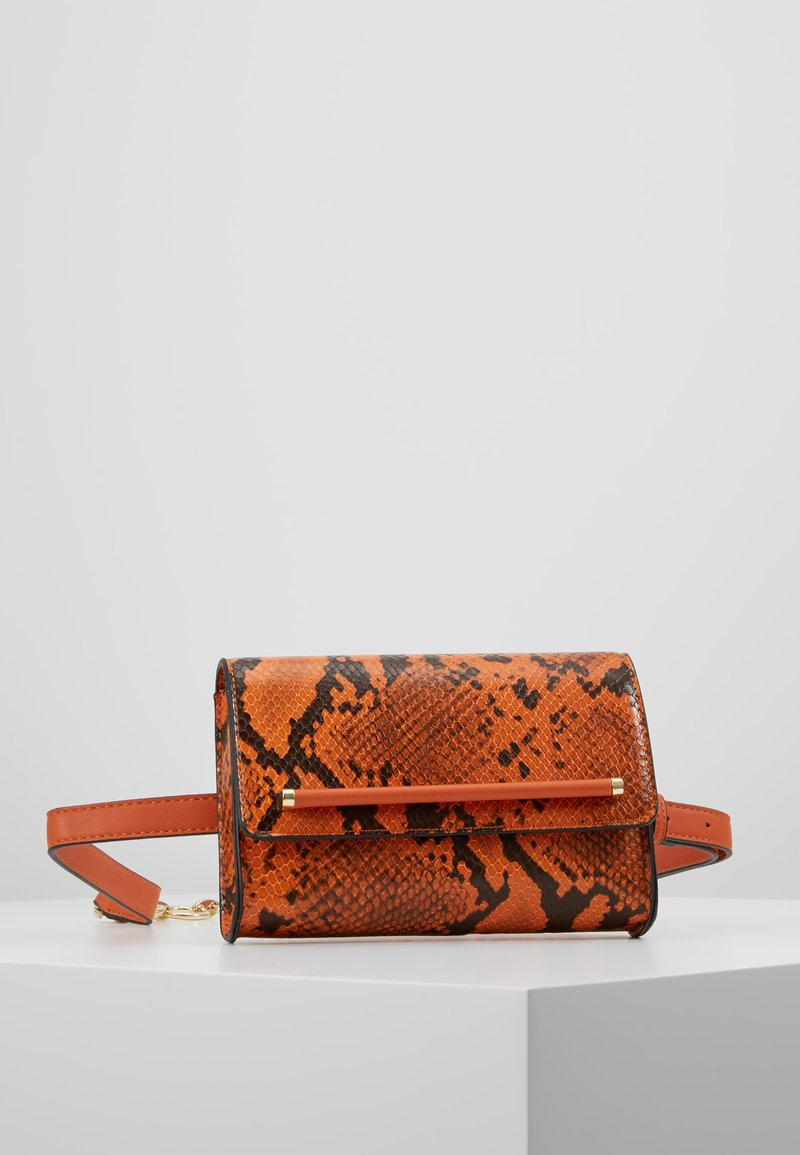 Topshop - BLAIR CROC BELTBAG - Bum bag - orange