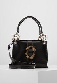 Topshop - STORM BUCKLE - Handbag - black - 0