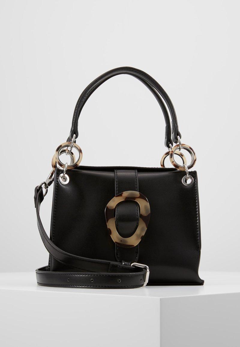 Topshop - STORM BUCKLE - Handbag - black