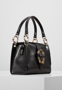 Topshop - STORM BUCKLE - Handbag - black - 3