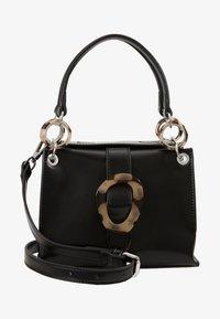 Topshop - STORM BUCKLE - Handbag - black - 5