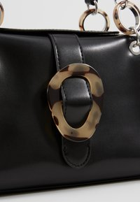 Topshop - STORM BUCKLE - Handbag - black - 6