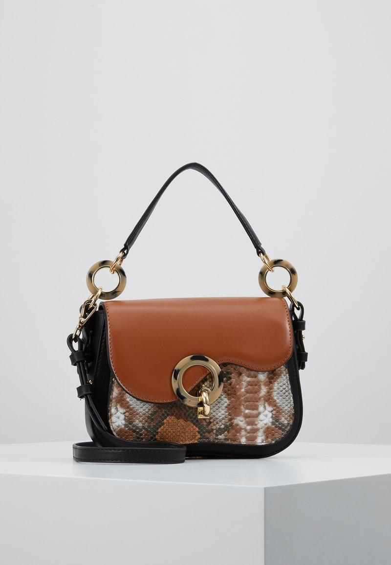 Topshop - CARLO SHOULDER - Handbag - tan