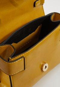 Topshop - MINNY BUCKLE MINI - Handtasche - chartreuse - 4