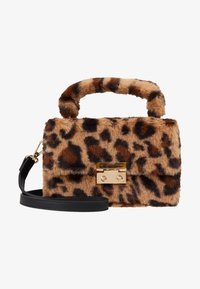 Topshop - FIZZ BOX GRAB - Borsa a mano - brown - 5