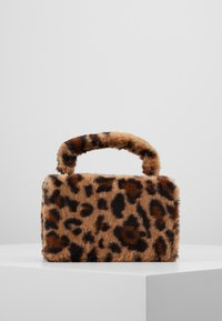 Topshop - FIZZ BOX GRAB - Borsa a mano - brown - 2