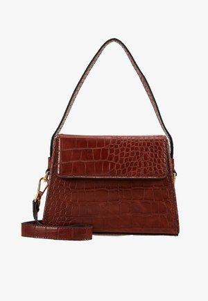 GURU BOX GRAB - Handbag - rust