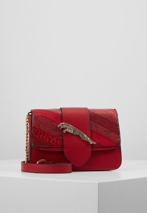 LEAPING LEOPARD XBODY - Borsa a tracolla - red