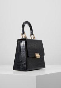 Topshop - VINTAGE BOX GRAB - Handbag - black - 3