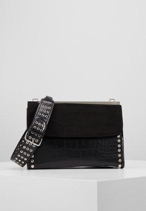 RETRO STUDDED SHOULDER - Handtasche - black