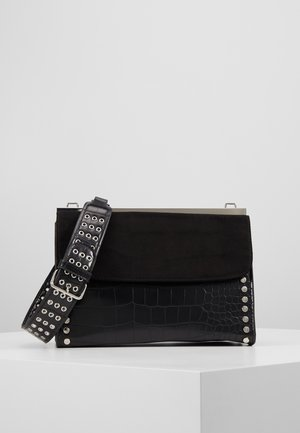 RETRO STUDDED SHOULDER - Handbag - black