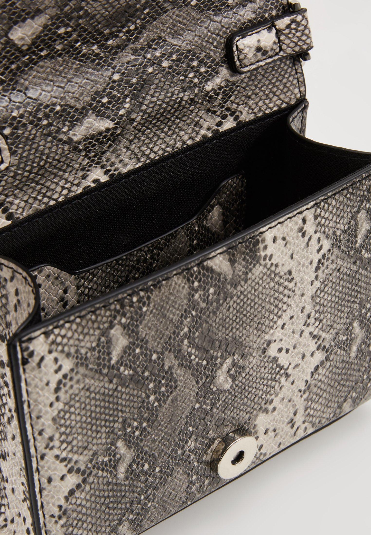 Topshop CRAVE CHAIN MINI - Håndtasker - grey