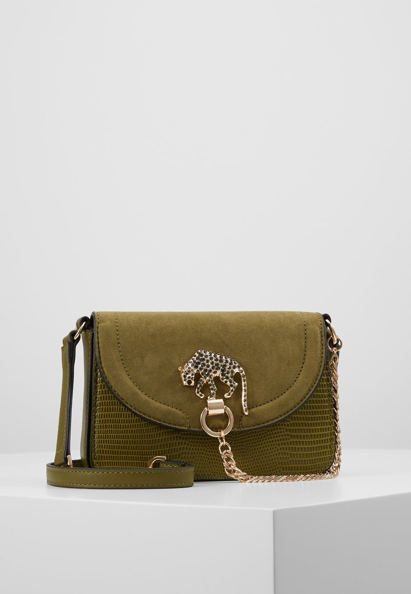 Topshop - DAZZLE PANTHER XBODY - Borsa a tracolla - green
