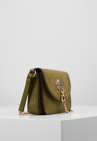 Topshop - DAZZLE PANTHER XBODY - Borsa a tracolla - green - 3