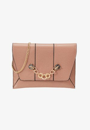 PANTHER CHAIN  - Clutch - nude