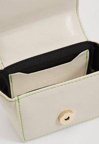 Topshop - KEN MICRO MINI - Handbag - white - 5