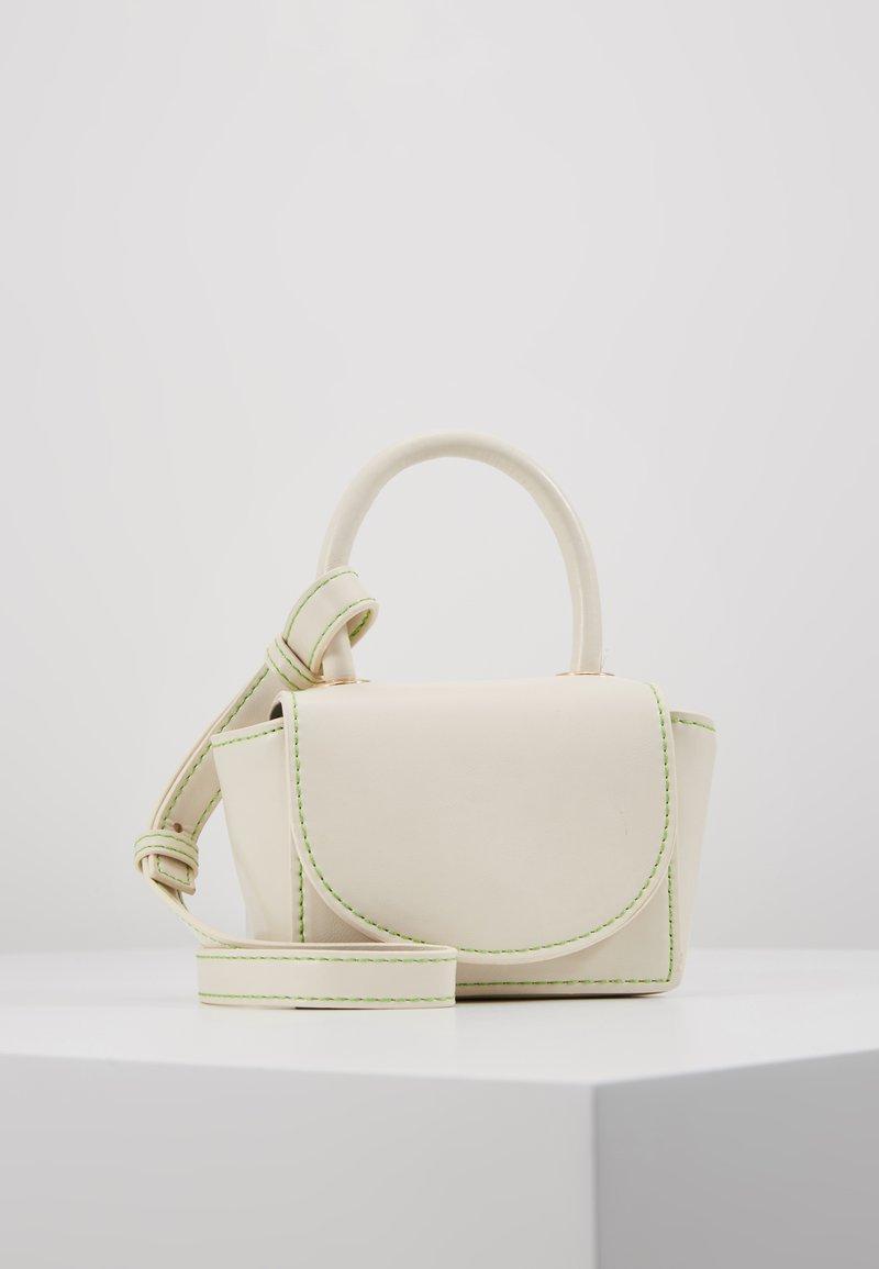 Topshop - KEN MICRO MINI - Handbag - white
