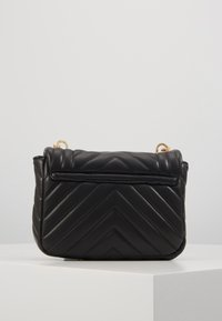 Topshop - CARL PANTHER QUILTED - Torba na ramię - black - 3