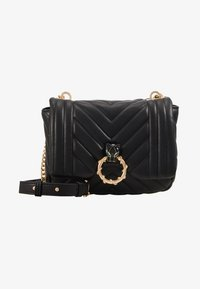 Topshop - CARL PANTHER QUILTED - Torba na ramię - black - 1