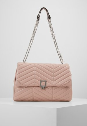SASHA LARGE QUILTED SHOULDER - Olkalaukku - pink