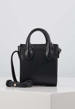 MICRO TOTE - Across body bag - black