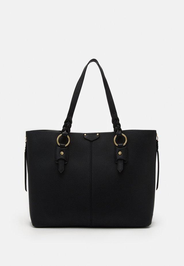PLAIT TRIP - Tote bag - black