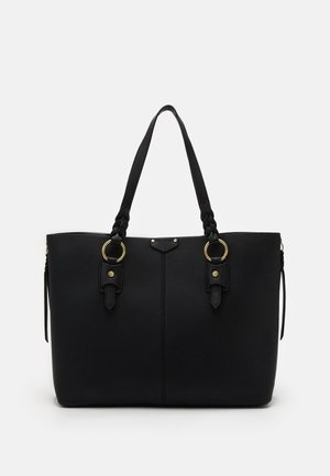 PLAIT TRIP - Bolso shopping - black