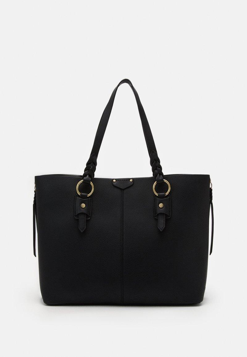 Topshop - PLAIT TRIP - Shoppingväska - black