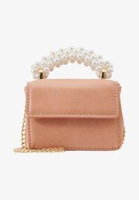 Topshop - PEARL HANDLE MICRO CINDY - Across body bag - peach - 4