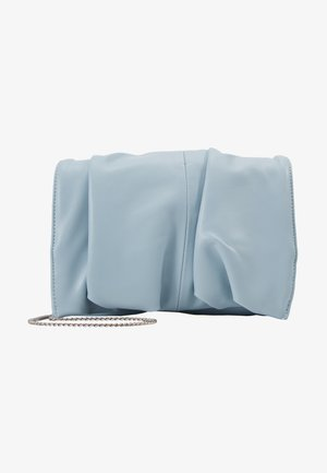 RUCHED - Pikkulaukku - blue