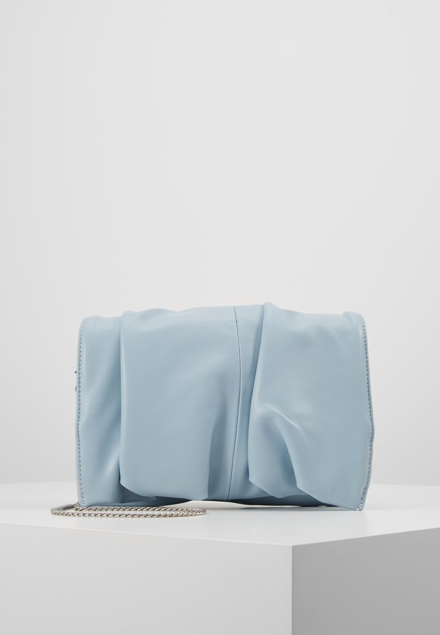 RUCHED - Clutch - blue