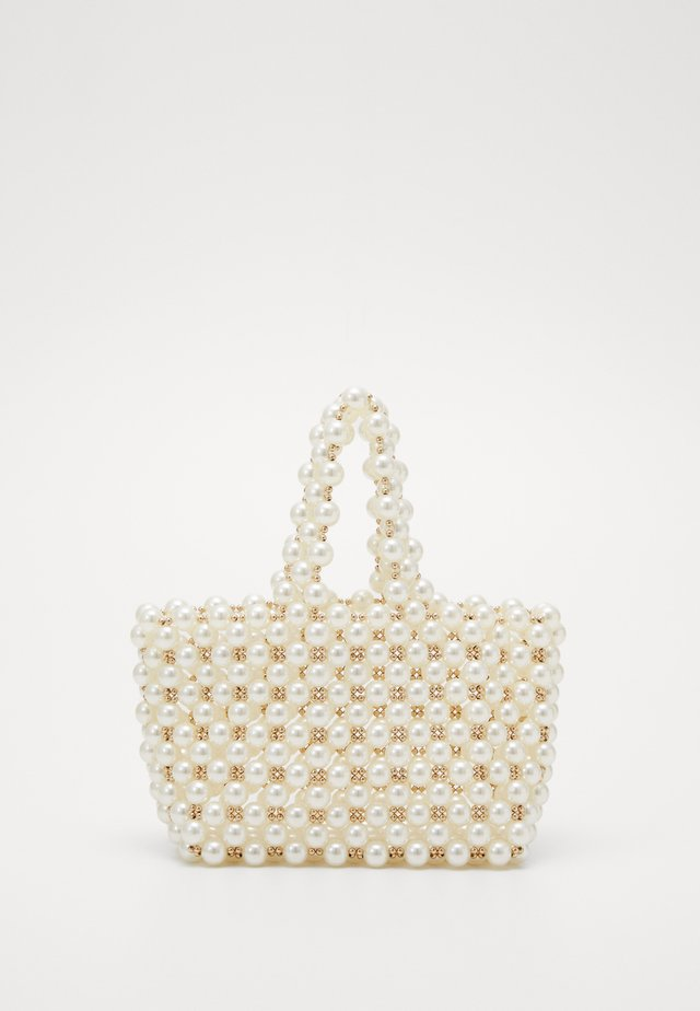 PAM PEARL GRAB - Handbag - cream