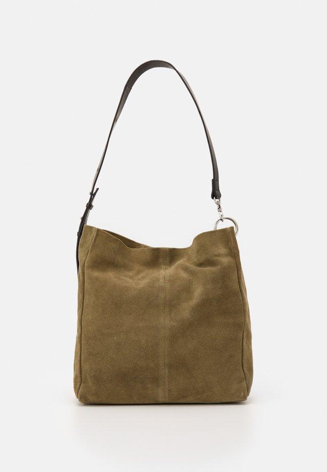 LENA - Shoppingväska - khaki