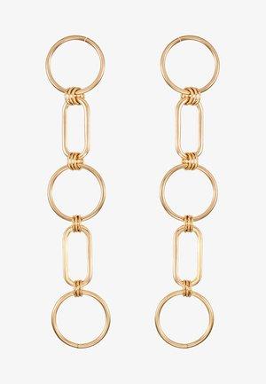 CIRC LINK - Oorbellen - gold-coloured