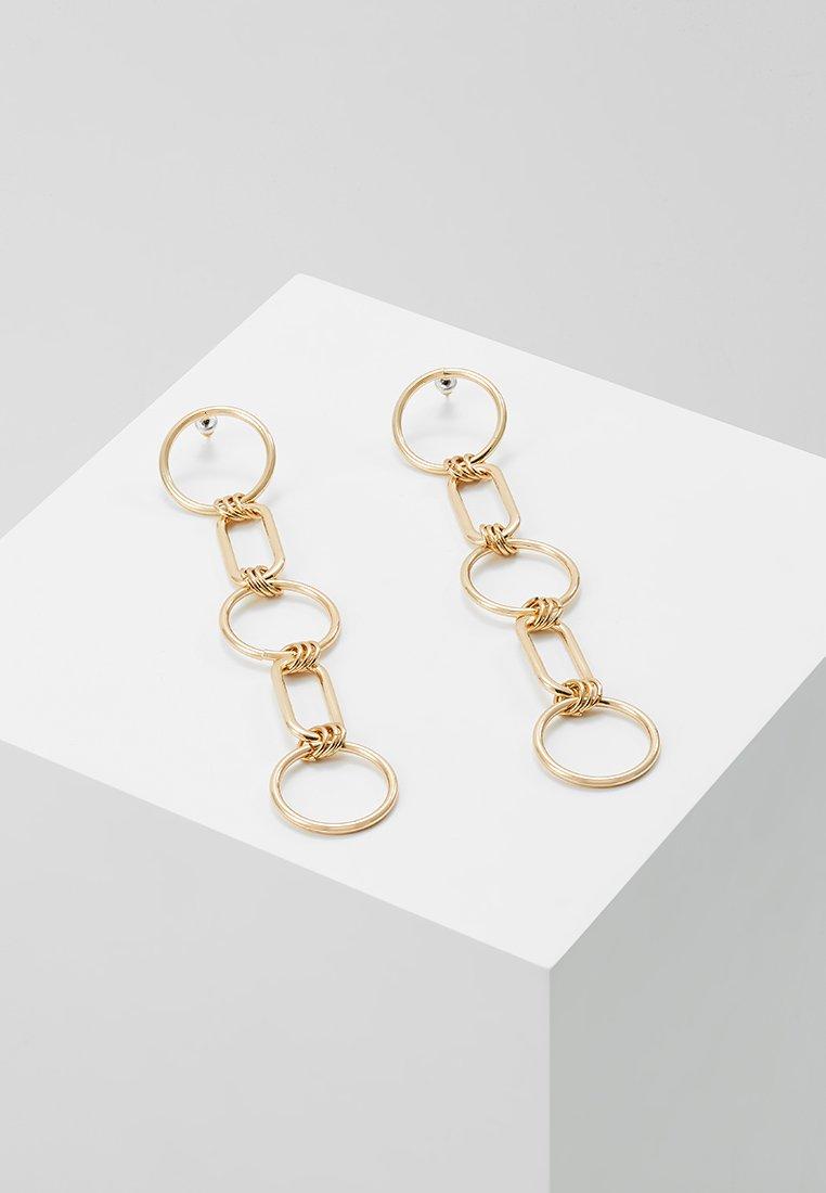 Topshop - CIRC LINK - Náušnice - gold-coloured