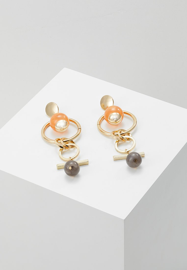 Topshop - LINK BALL  - Pendientes - gold-coloured