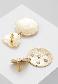 Topshop - TRIANGLE CIRCLE DROP - Oorbellen - gold-coloured - 2