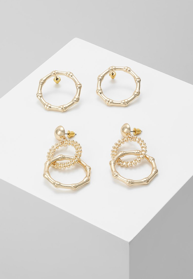 Topshop - 2 PACK - Earrings - gold-coloured