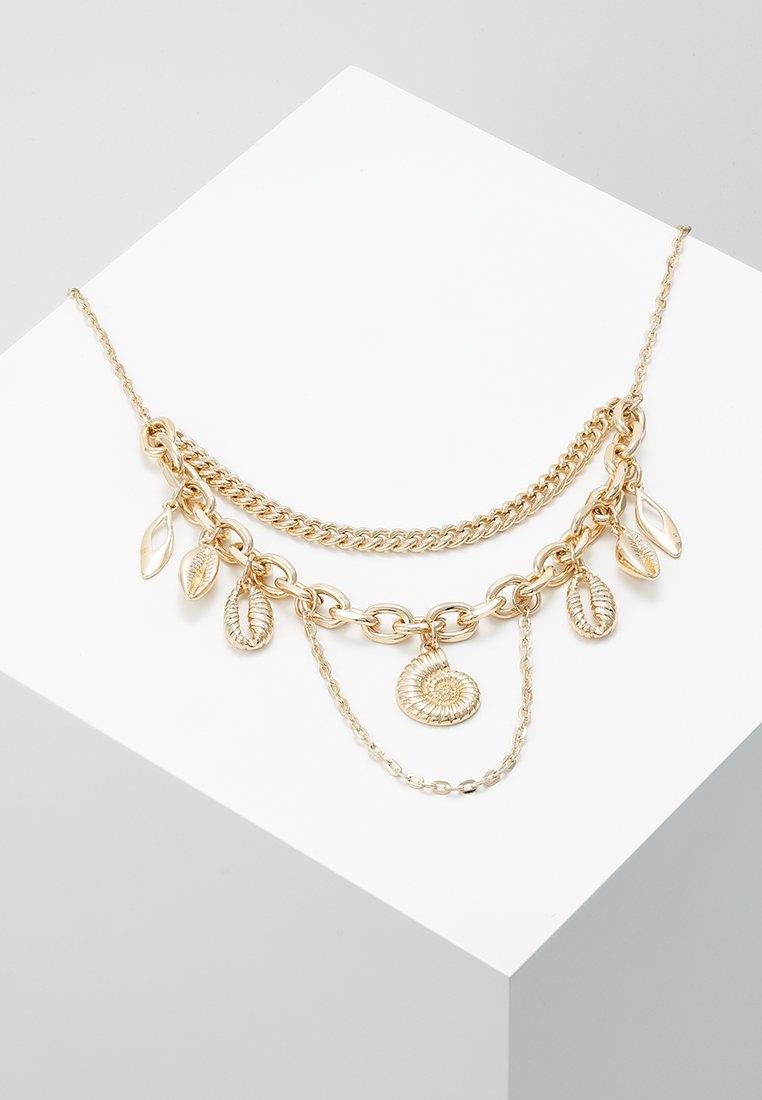 Topshop - SHELL - Halskette - gold-coloured