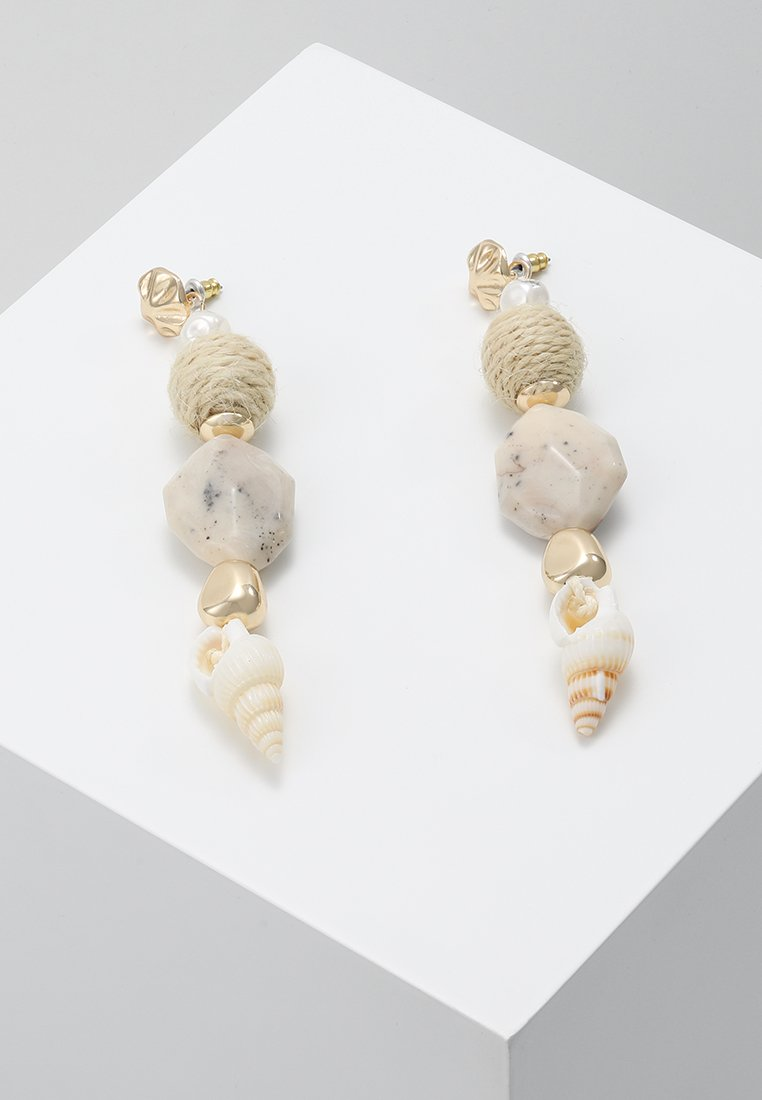 Topshop - DROP - Boucles d'oreilles - cream