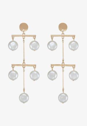MOBILE - Earrings - gold-coloured