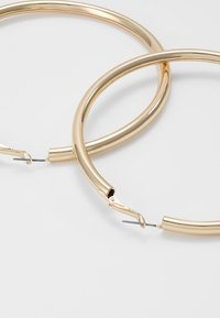 Topshop - LARGE HOOP - Náušnice - gold-coloured - 2