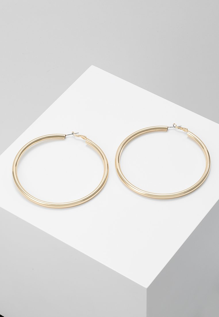 Topshop - LARGE HOOP - Náušnice - gold-coloured