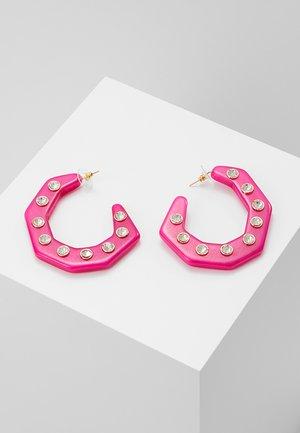HEX DROPS - Orecchini - pink