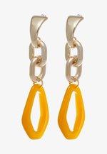 LINK DROP EARRINGS - Orecchini - orange