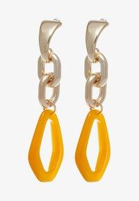 Topshop - LINK DROP EARRINGS - Orecchini - orange - 3